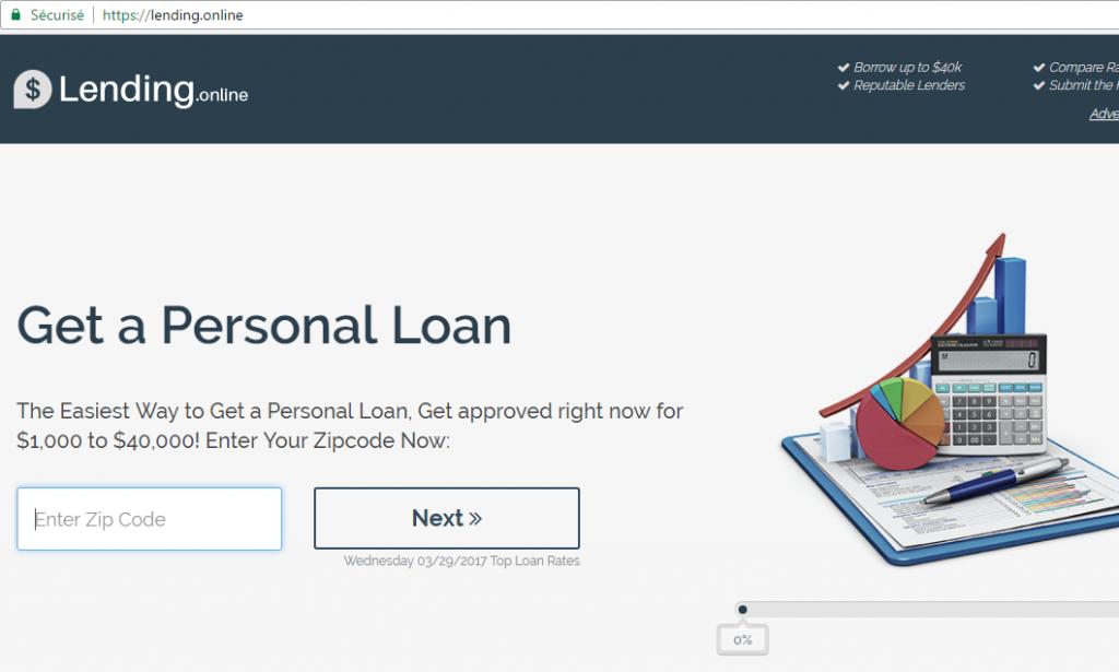 New gTLD - exemple Lending