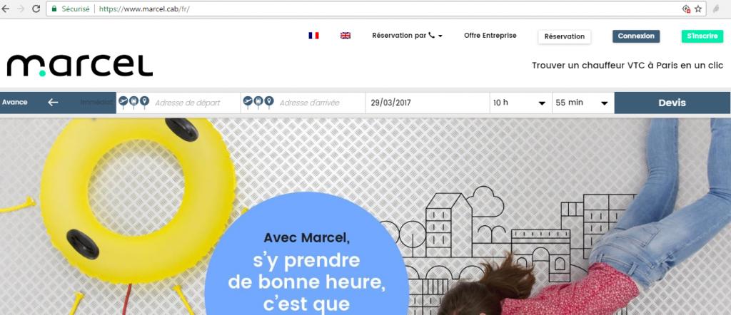 marcel.cab - exemple utilisation de new gTLD