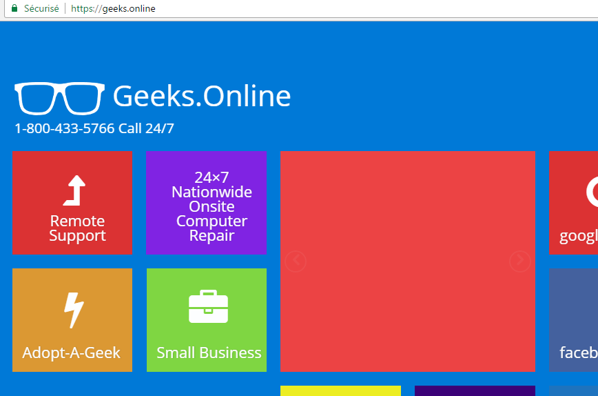 new gTLD - exemple Geeks.online