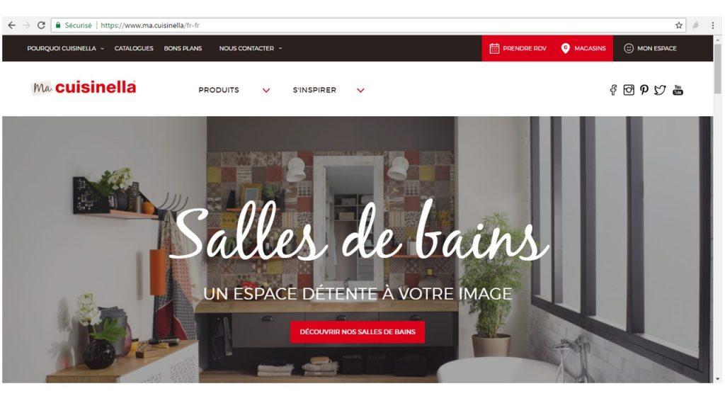 "Site en "".marque"" ma.cuisinella"