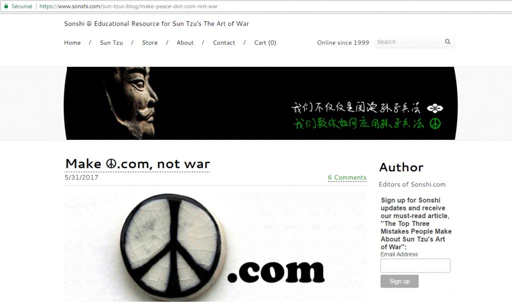 Noms de domaine emoji - Site internet de Sonshi.com