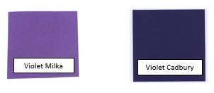 Marques de couleur - exemples