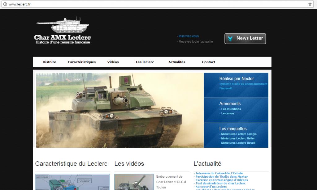 .Brand - Site internet leclerc.fr