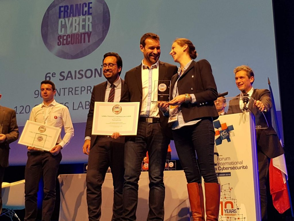 Remise du label - DNS Premium labellisé France Cybersecurity - Nameshield