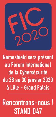 Nameshield sera présent au FIC 2020, rencontrons-nous STAND D47