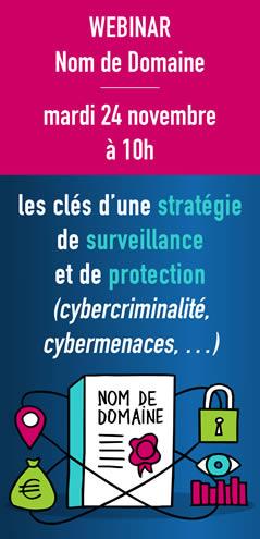 Nom de domaine : les clés d'une stratégie de surveillance et de protection (cybercriminalité, cybermenaces, …)