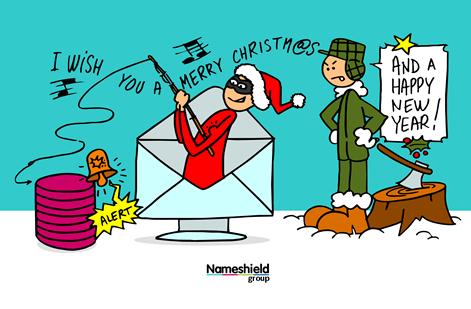 Phishing, slamming et autres e-mails frauduleux : Redoublez de vigilance pendant les fêtes de fin d'année !
