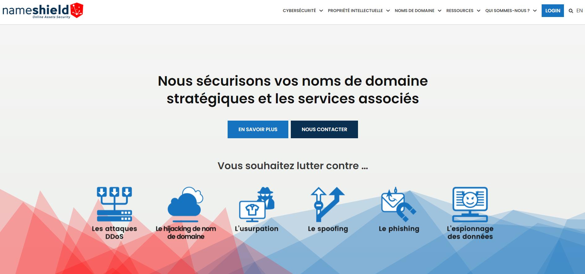 Nameshield - Nouveau site