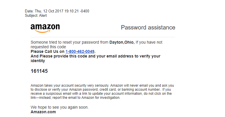 A phishing attack more and more sophisticated