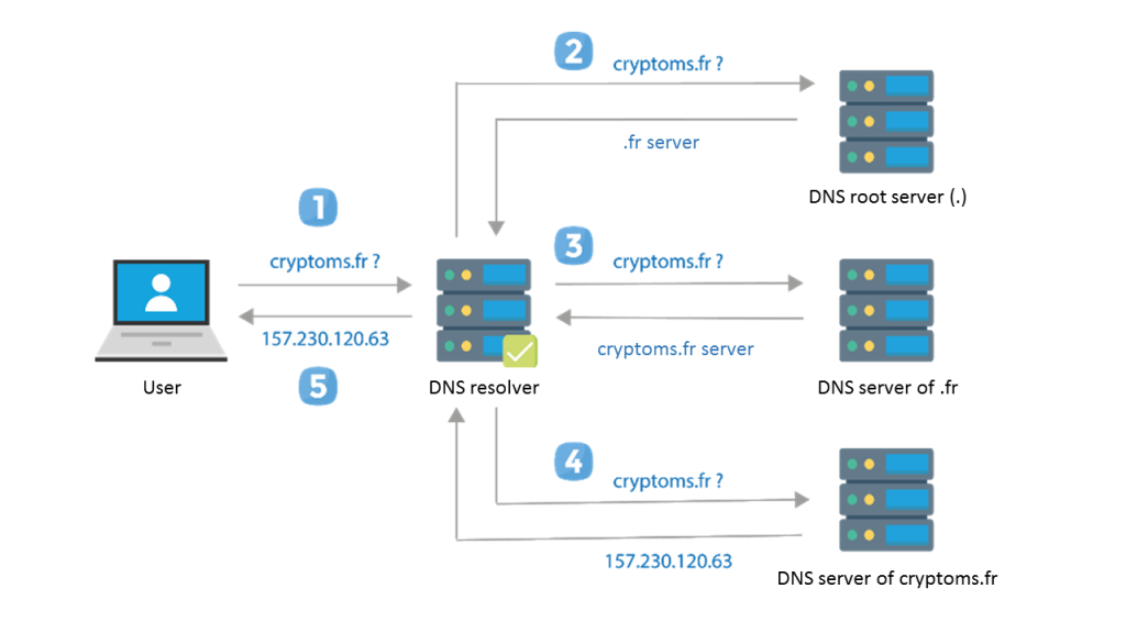 DNS - DNS on Blockchain - Nameshield